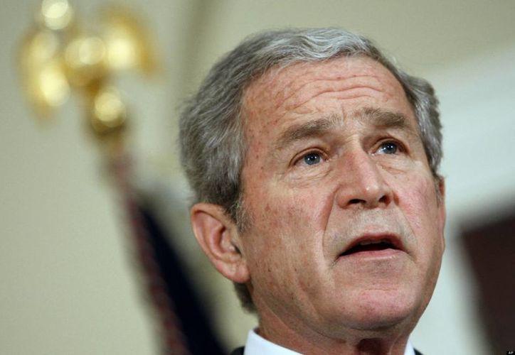 El plan se realizó durante la administración de George W. Bush. (Archivo/Agencias)