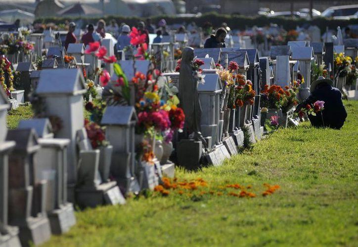 Según la autoridad, el derecho a propiedad perpetua en los cementerios es causa de la saturación y el descuido. (Archivo/Notimex)