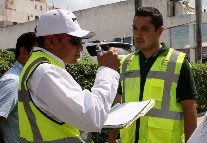 Los sitios de mayor vigilancia serán los paraderos donde hay mayor cantidad de pasaje en Cancún. (Redacción/SIPSE).