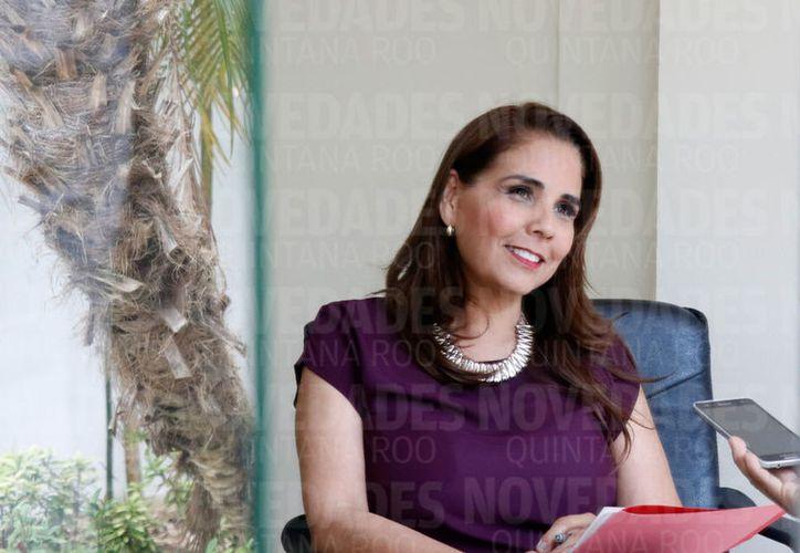 Para Mara Lezama, la honestidad, preparación, voluntad y talento, son las principales características para participar en la política. (Israel Leal/SIPSE)