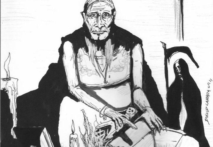 """Durante el día la hechicera se comportaba como una persona """"normal"""". (Jorge Moreno/SIPSE)"""