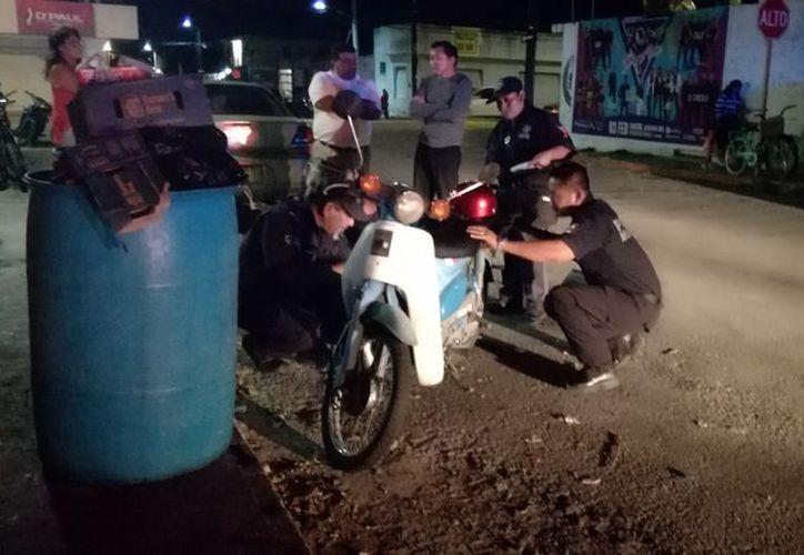 El motociclista se hizo cargo de los gastos de la menor de edad. (Foto: Redacción)