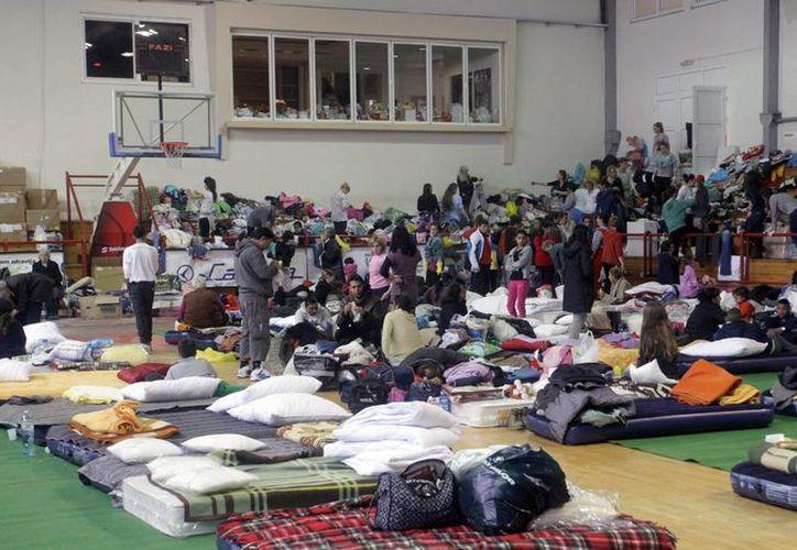 En Bosnia-Herzegovina una tercera parte de los habitantes están directamente afectados por las inundaciones. (EFE)