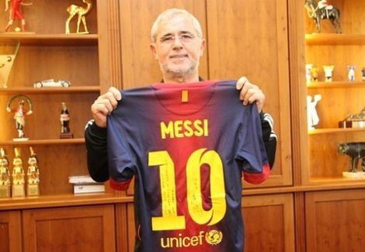 Messi rompió un récord de Muller (foto) que tenía 40 años de existencia. (Milenio)