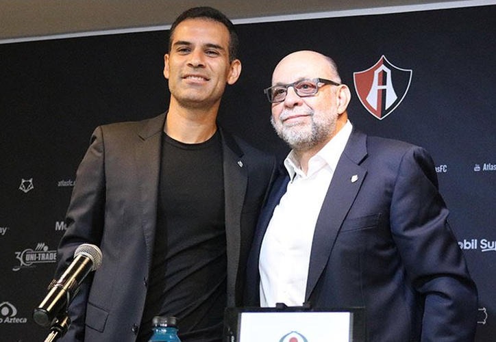 El presidente del Atlas, Gustavo Guzmán, reveló que Márquez tendrá la  responsabilidad de armar el plantel. (Twitter)