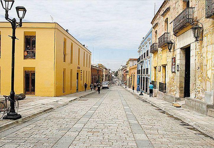 El centro de Oaxaca, donde hay decenas de hoteles. (Milenio)