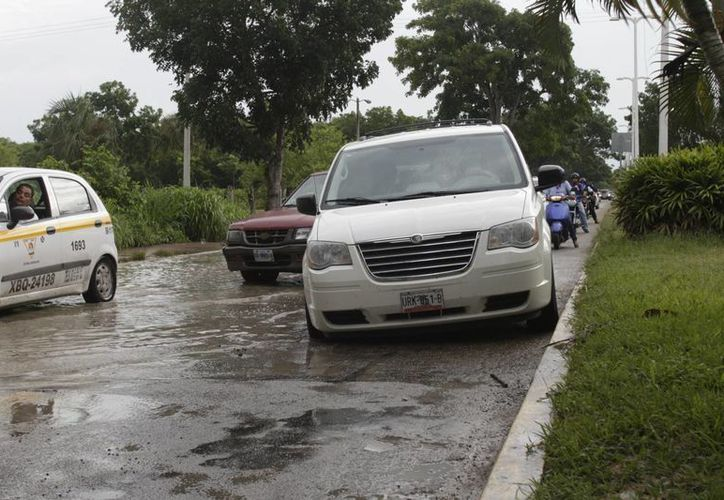 Las lluvias se registraron del 31de mayo al 2 de junio. (Harold Alcocer/SIPSE)