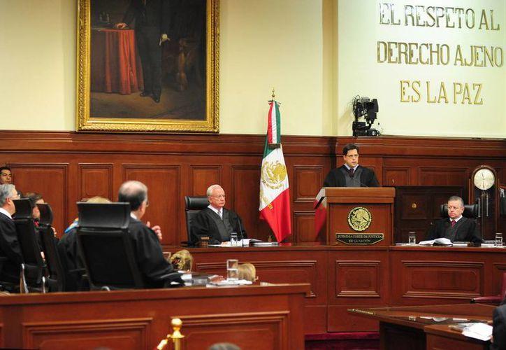 Son seis los ministros que aspiran a presidir la Suprema Corte de Justicia de la Nación. (Archivo/Notimex)