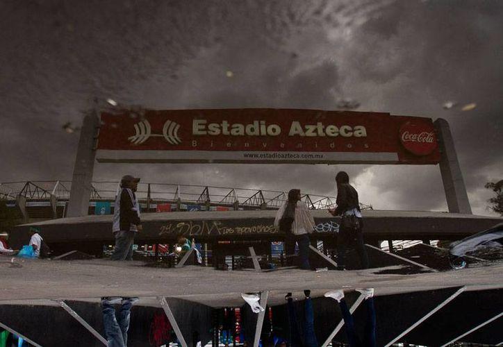 La liga MX definió fechas y horarios de la Liguilla 2015. En la imagen, el estadio Azteca, una de las sedes del minitorneo. (Archivo/NTX)