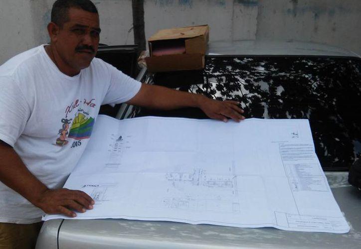 El proyecto se instalaría sólo si la parte involucrada acepta asociarse con el núcleo agrario. (Edgardo Rodríguez/SIPSE)