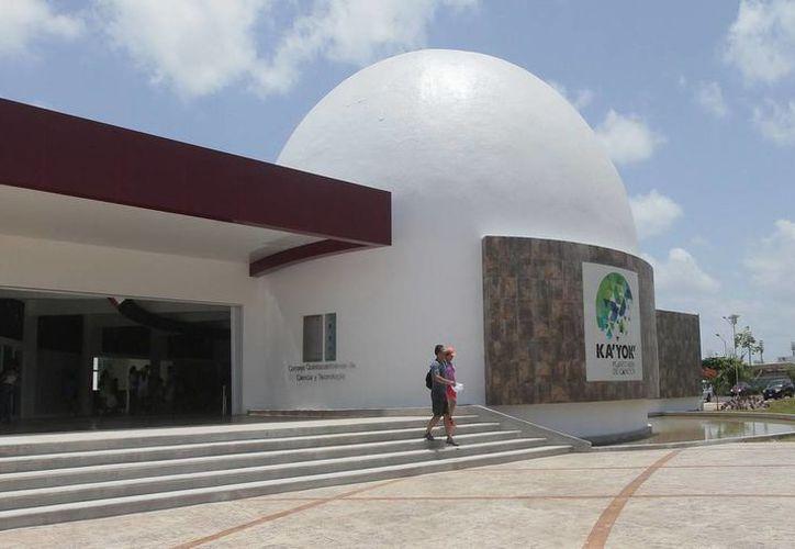 El Planetario Ka' Yok' Cancún será sede de algunas de las mil 200 actividades proyectadas en este 2014. (Redacción/SIPSE)