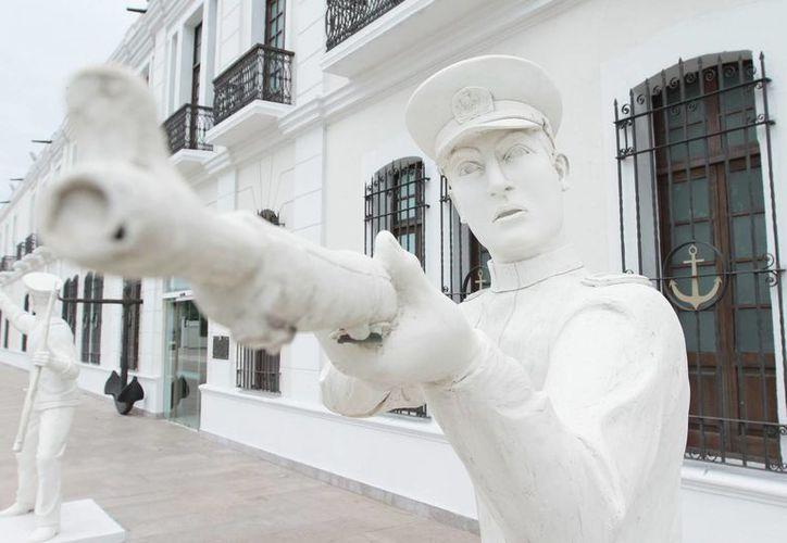 El edificio fue sede de la antigua Escuela Naval, luego del  Centro de Capacitación de la Armada  (Cen-Cap), y en 1998 abrió sus puertas como Museo Naval México. (Fotos: Notimex)