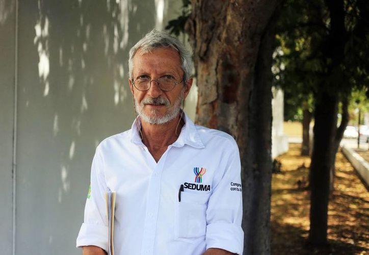 Eduardo Batliori Sampedro, secretario de la Seduma, afirma que Yucatán cuenta con grandes reservas hidráulicas. (Milenio Novedades)