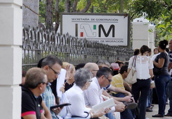 Exhortan a extranjeros a legalizar su situación migratoria. (Milenio Novedades)