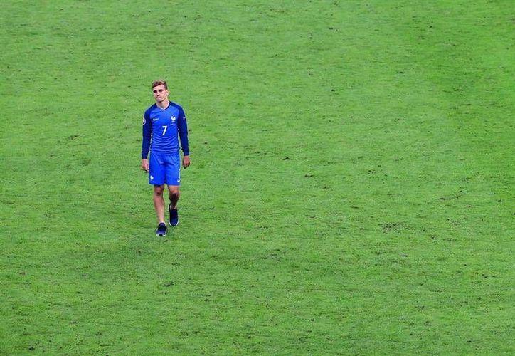 Griezmann se quedó sin Eurocopa y sin Champions, todo en unas pocas semanas. (EFE)