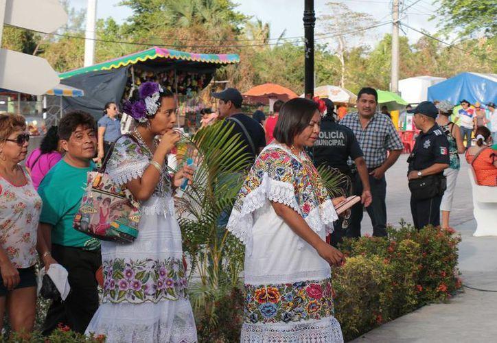 La feria de El Cedral de Cozumel concluyó con saldo blanco. (Gustavo Villegas/SIPSE)