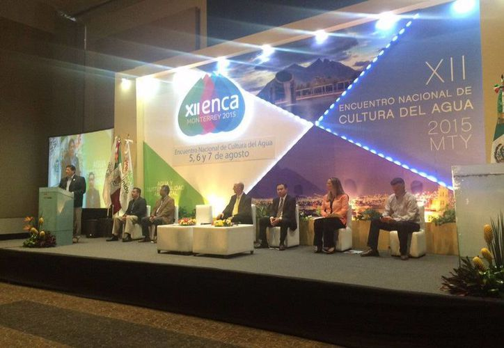 El evento de inauguración que se llevó a cabo en el Gran Salón del Centro de Negocios Cintermex del Parque Fundidora, en Monterrey. (Cortesía)