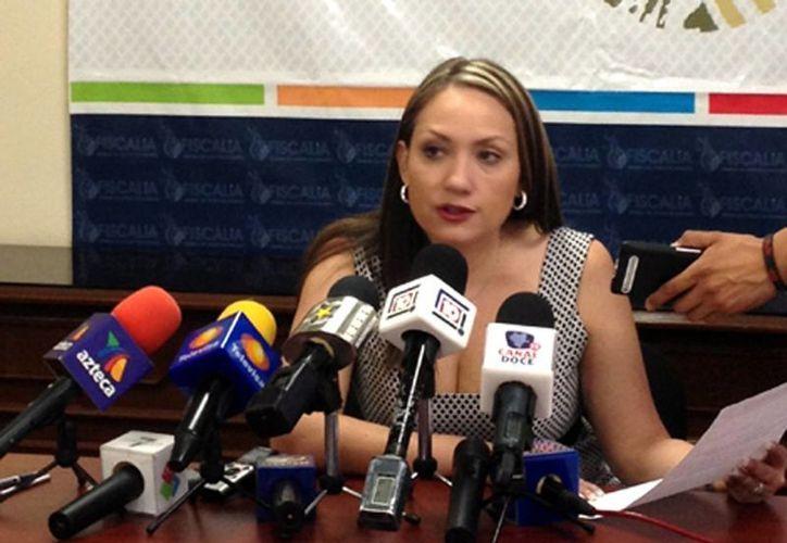 Fiscal general del Estado de Durango, Sonia Yadira de la Garza. (Milenio)