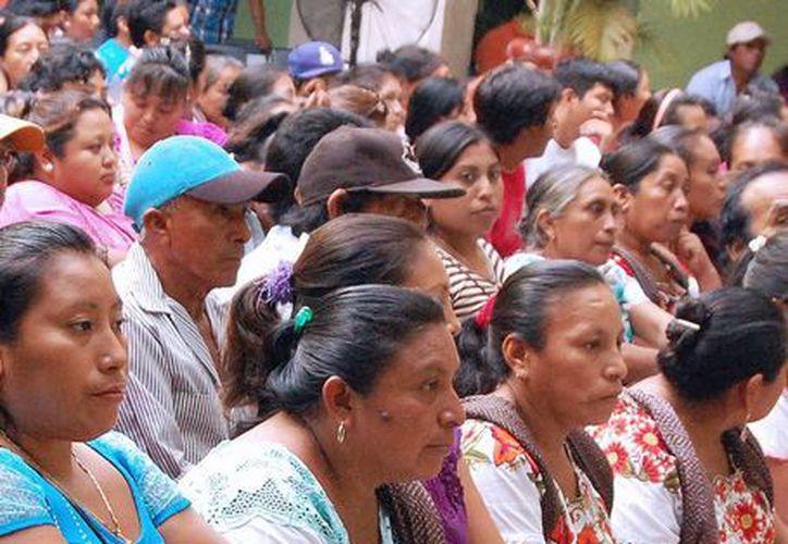 El programa tiene una buena participación entre los comisarios y comisarias de municipios de Yucatán. (Milenio Novedades)