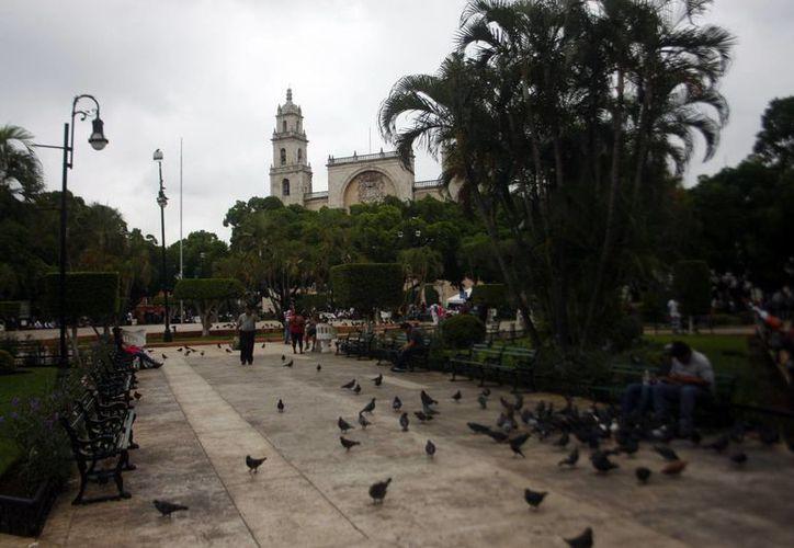 En Mérida los efectos de la depresión tropical se limitarán a lluvias, que en algunos casos podrían ser muy fuertes. (Christian Ayala/SIPSE)