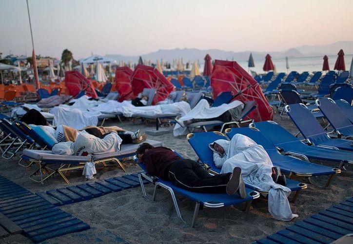 Al menos dos de los heridos en Grecia seguían en estado crítico el sábado. (Excelsior)