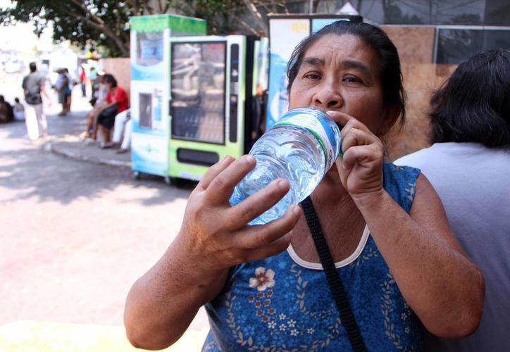 Las temperaturas superiores a 40 grados se registraron a partir de las 14:00 horas en Mérida. (José Acosta/SIPSE)
