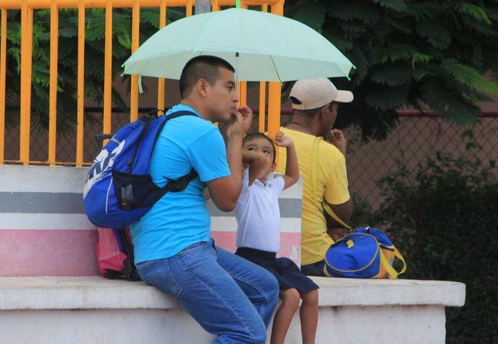 No guarden los paraguas porque, aunque hará calor, Conagua prevé algunos chubascos para Mérida. (José Acosta/SIPSE)