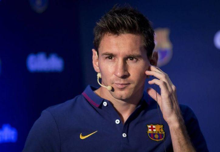 Messi y su padre Jorge tienen cinco días para apelar el fallo por un fraude millonario. (Notimex/(Foto de archivo)
