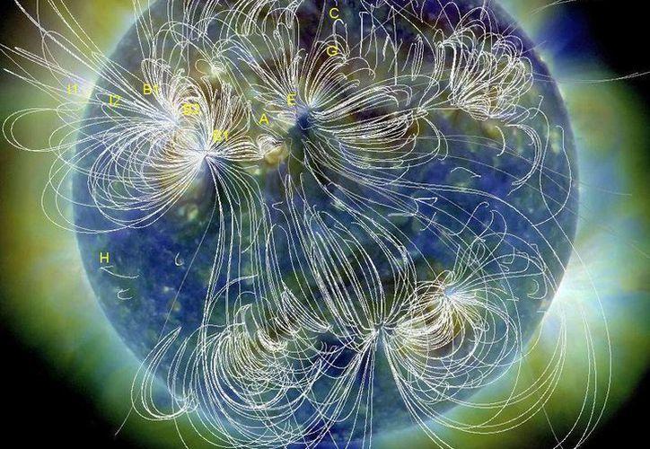 La NASA asegura que se trata de un elemento normal del ciclo solar. (nasa.gov)