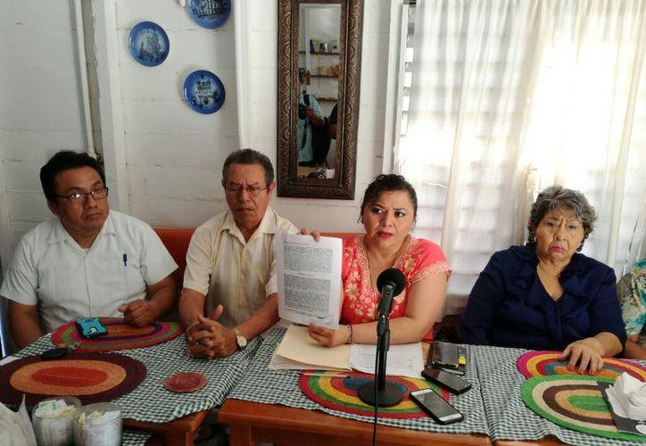 Rosmely Cel Pérez, candidata, denunció que los representantes de las otras tres planillas incurrieron en irregularidades. (Joel Zamora/SIPSE)