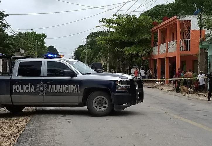 Los agentes de la Policía Ministerial no pudieron entrevistar al lesionado por la condición grave en la que se encontraba. (SIPSE)