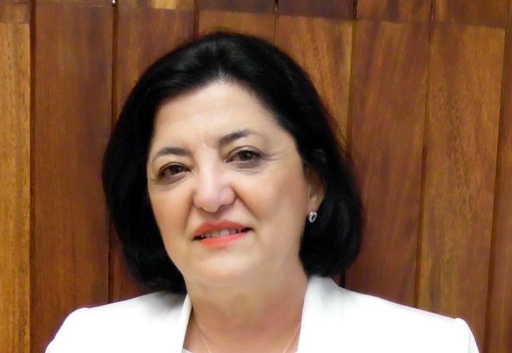 Julieta Rojo Medina, directora general del Centro Nacional de Transfusión Sanguínea.  (Foto: Milenio Novedades)