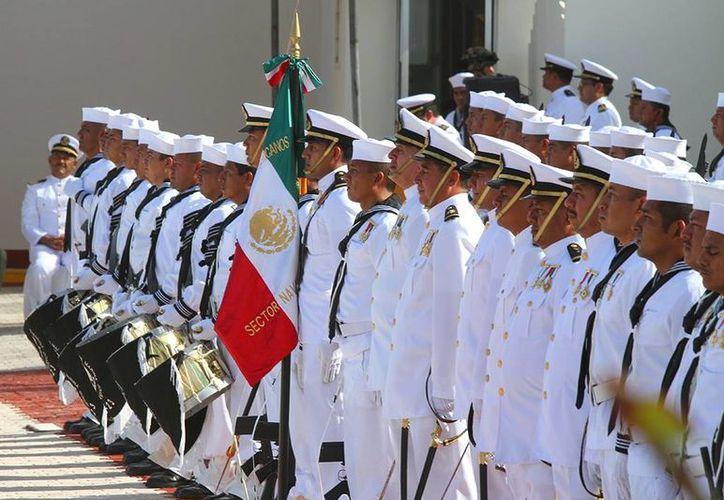 La ceremonia se realizó en las instalaciones del Sector Naval. (Cortesía/SIPSE)