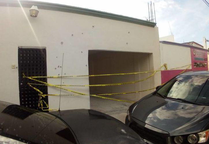 Las autoridades acordonaron la zona con cinta amarilla. (Redacción)