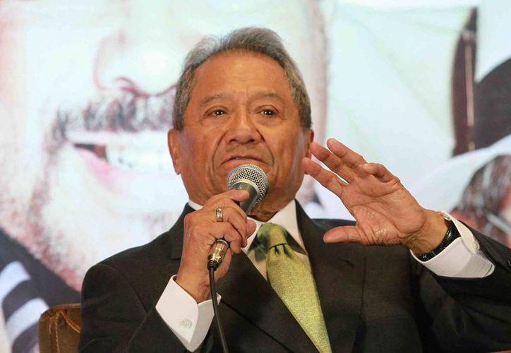 Armando Manzanero será impulsor del Festival Internacional de la Cultura Maya. (Notimex)