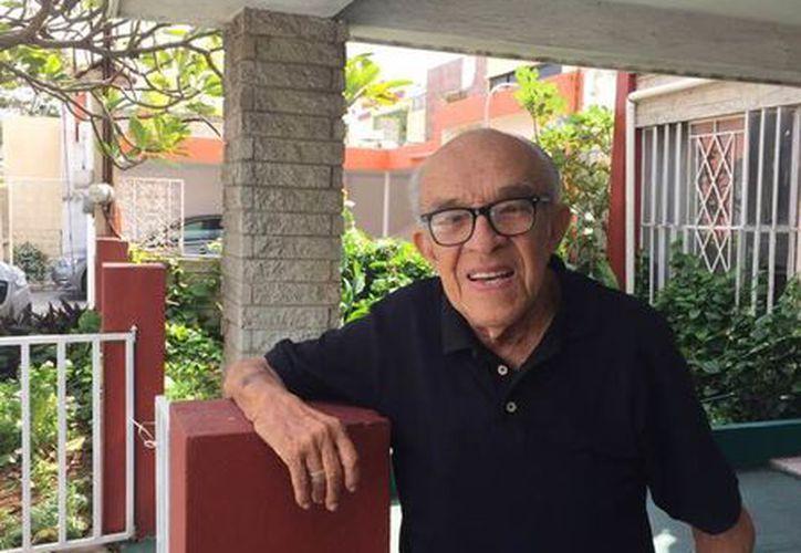 El profesor Luis Alberto Ramírez Rosado es gratamente recordado entre la comunidad de profesores en Mérida. (Cortesía)