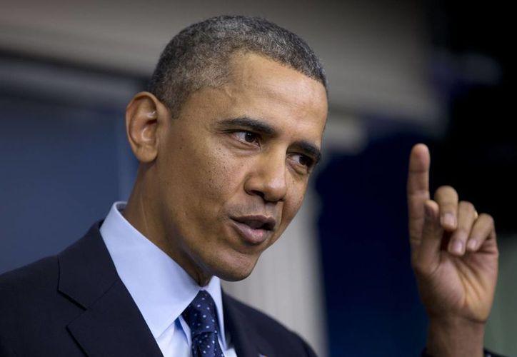 Obama dijo que los republicanos tenían la oportunidad de hacer crecer la economía de EU. (Agencias)