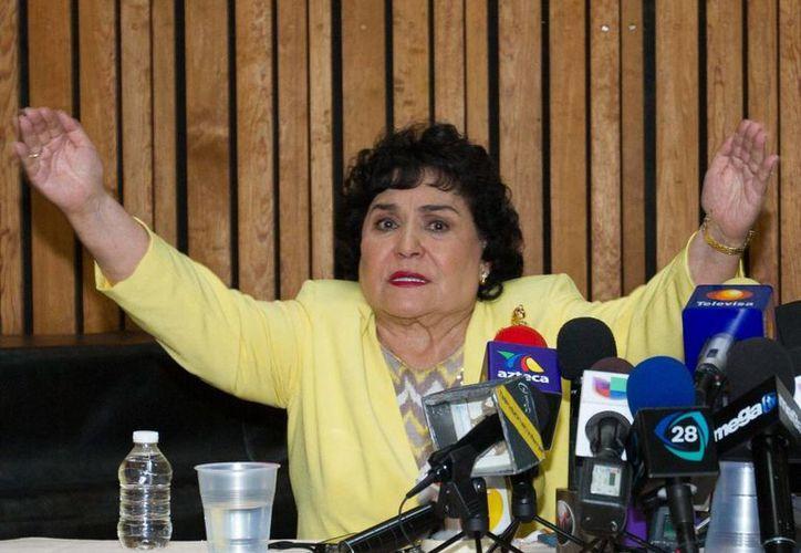 Carmen Salinas estará en la primera emisión del programa de espectáculos que se transmitirá por Televisa Monterrey a partir del 8 de este mes. (Archivo Notimex)