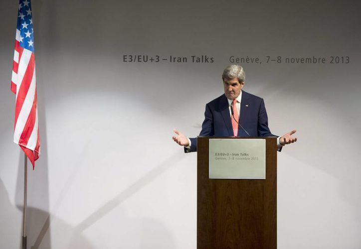 Kerry pretende tranquilizar a los países del Golfo Pérsico. (EFE)