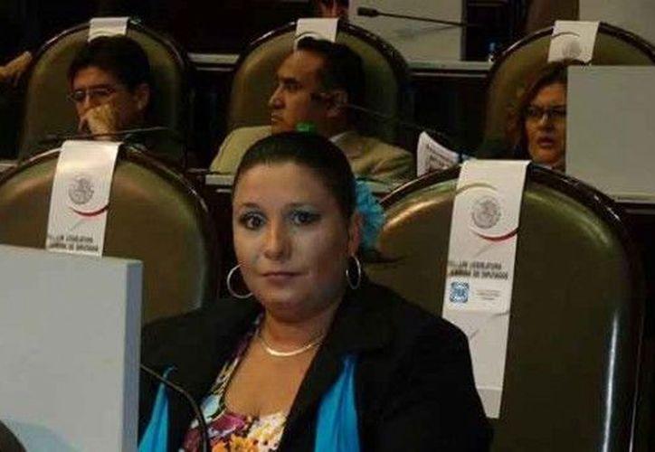 Diputada panista Mariana Dunyaska García Rojas. (e-consulta.com)