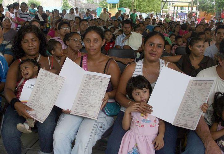 En lo que va de 2013 se han entregado mil 30 actas de nacimiento de manera gratuita. (Archivo/SIPSE)