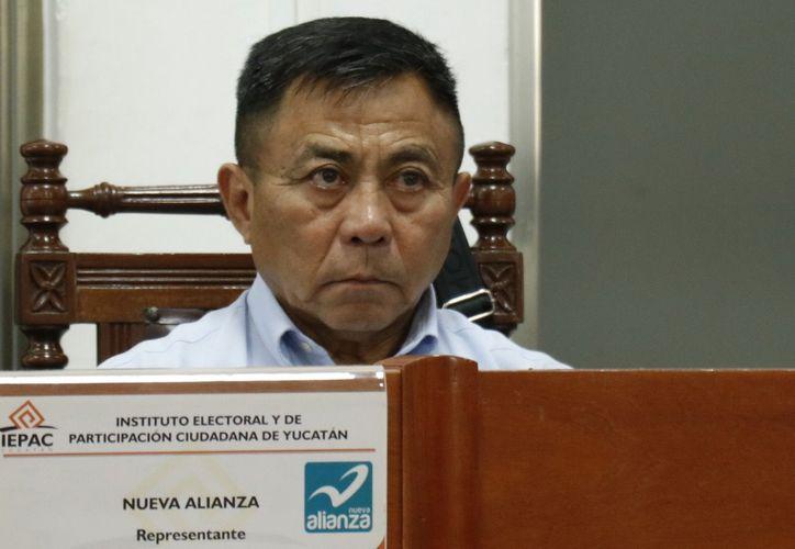 Raúl Ernesto Sosa Alonzo, representante local de Nueva Alianza. (Redacción)