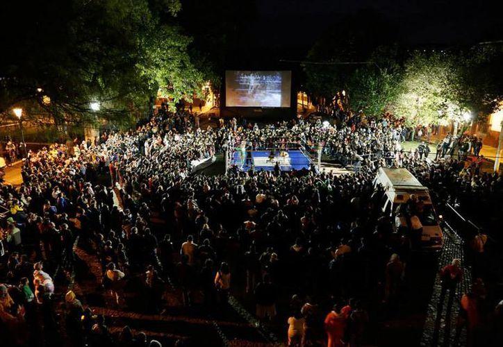 Se planea que las funciones de Cinema Misterio se realizacen en lugares emblemáticos del DF en principio, para después llevarlarlas al resto del país. (Facebook oficial)