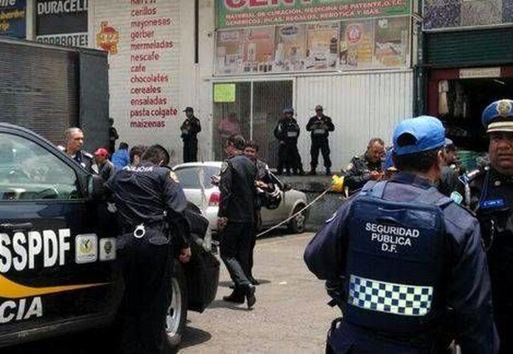 Las actividades de la Central de Abasto no se suspendieron por el incidente. (Milenio)