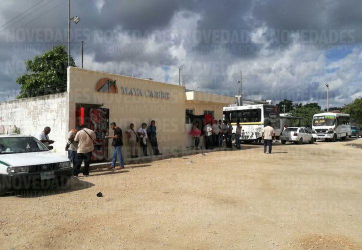 Alrededor de 200 unidades de Maya Caribe se encuentran paralizadas. (Redacción/ SIPSE)