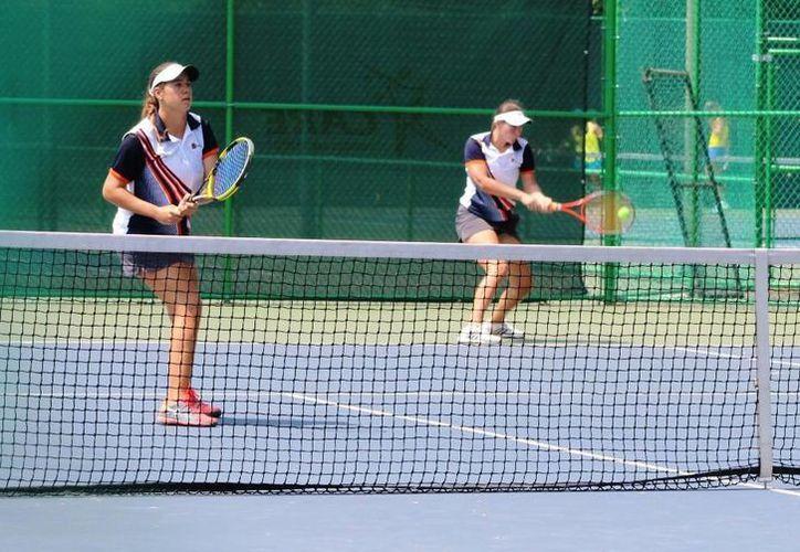 Las tenistas están preparadas para los cuartos de final. (Redacción/SIPSE)