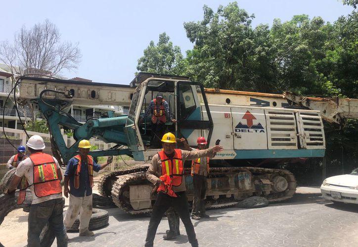 Aproximadamente  250 metros cuadrados de manglar fueron cortados. (Foto: Octavio Martínez/SIPSE)