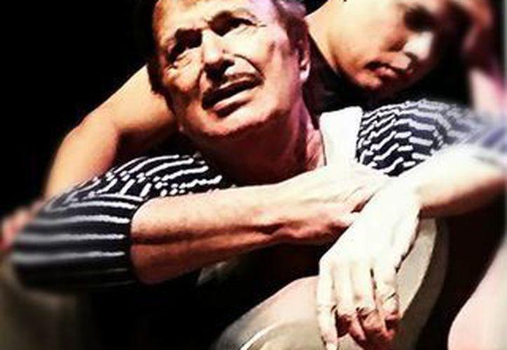 El actor Francisco Sobero Garavito, Tanicho, falleció este viernes. Hoy sábado, su cuerpo llegó hasta la Estancia Casa Teatro  Tanicho, en donde fue velados por seguidores, amigos, familiares y actores. (Foto: Juan Carlos Hernández/Facebook)