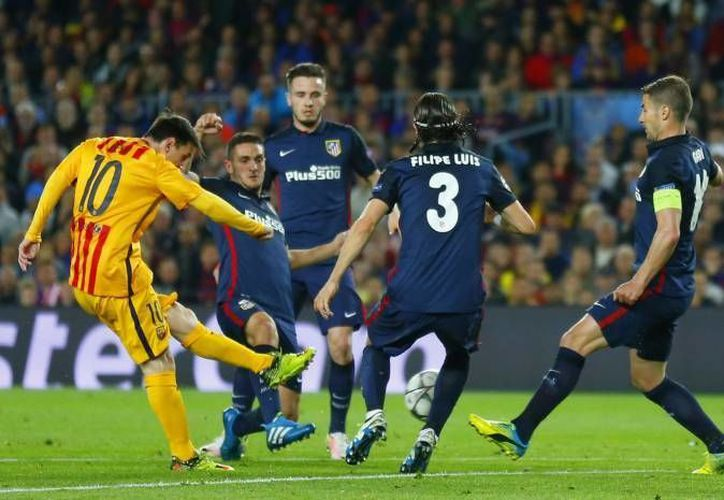El 1-0 a favor clasificaría al Atlético gracias al gol de visitante, mientras que el 2-1 mandaría el partido a tiempo extra. Si recibe gol en contra, el equipo de Madrid necesitará ganar por dos de diferencia para avanzar. (Archivo AP)