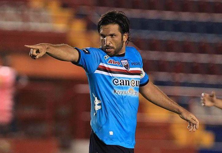 Francisco 'Kikín' Fonseca puso el 2-0 para el Atlante. (Cortesía/Liga MX)